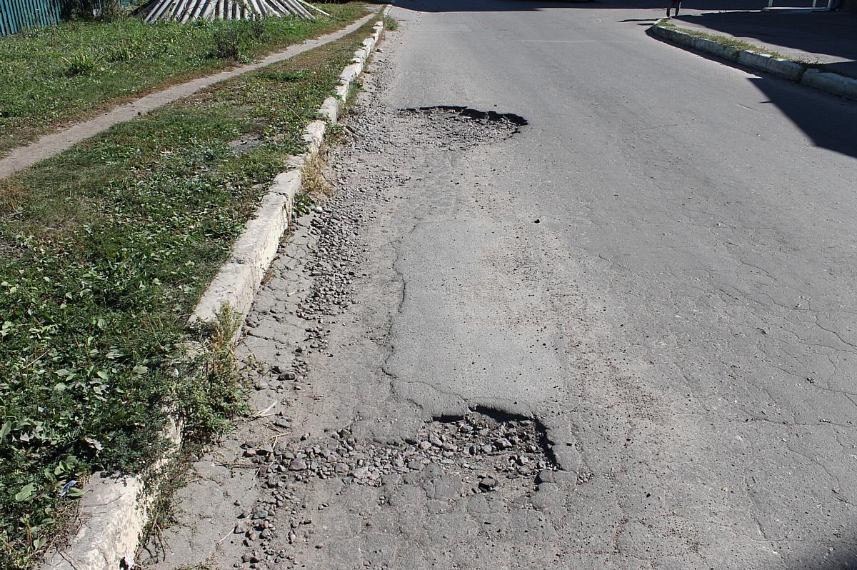 Активисты ОНФ в Воронежской области добиваются ремонта бесхозной дороги в Новой Усмани