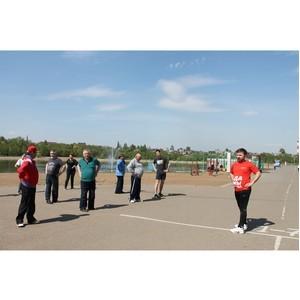 Команда «Молодежки ОНФ» провела в Уфе акцию «Спортивные выходные»