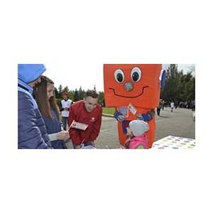 Кузбасские энергетики подхватили фестивальную волну и «зажгли» участников отличным настроением!