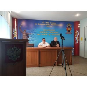 В Волгограде состоялась беседа со священником