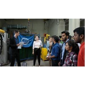 Студенты из Индии на экскурсии в РЦЛТ