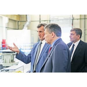 На базе ОАО КМЗ прошло совещание Роскосмоса и «Швабе»