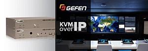 IP KVM удлинители Gefen серии EXT позволяют взаимодействовать с большинством видеоинтерфейсов