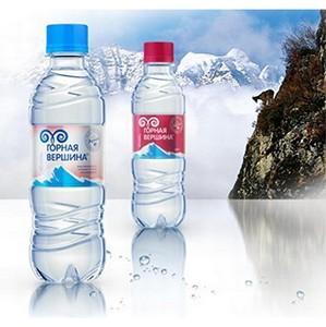 """Вода """"Горная вершина"""" компании """"Аквавлайн"""" признана лучшей водой года"""