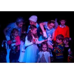 Театр «Синий Сарафан» подарил подопечным «Центра социальной реабилитации детей-инвалидов» сказку