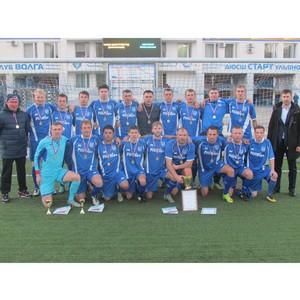ФК «Нефтяник» стал пятикратным чемпионом Ульяновской области по футболу