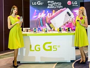 Компания LG Electronics представила смартфон LG G5SE в России