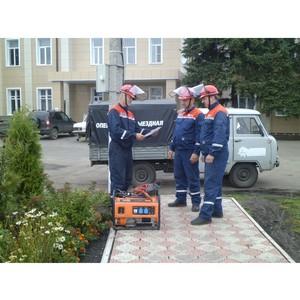 МРCК Центра в рамках подготовки к зиме организовала в Тамбовской области масштабные учения