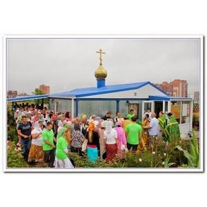 ѕрестольный праздник Ч в ростовском храме ѕетра и 'евронии
