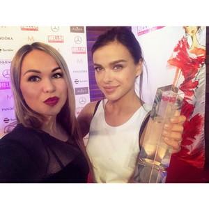 «Девушка-праздник» Юлия Бали определила собственных победителей на премии журнала «Hello»