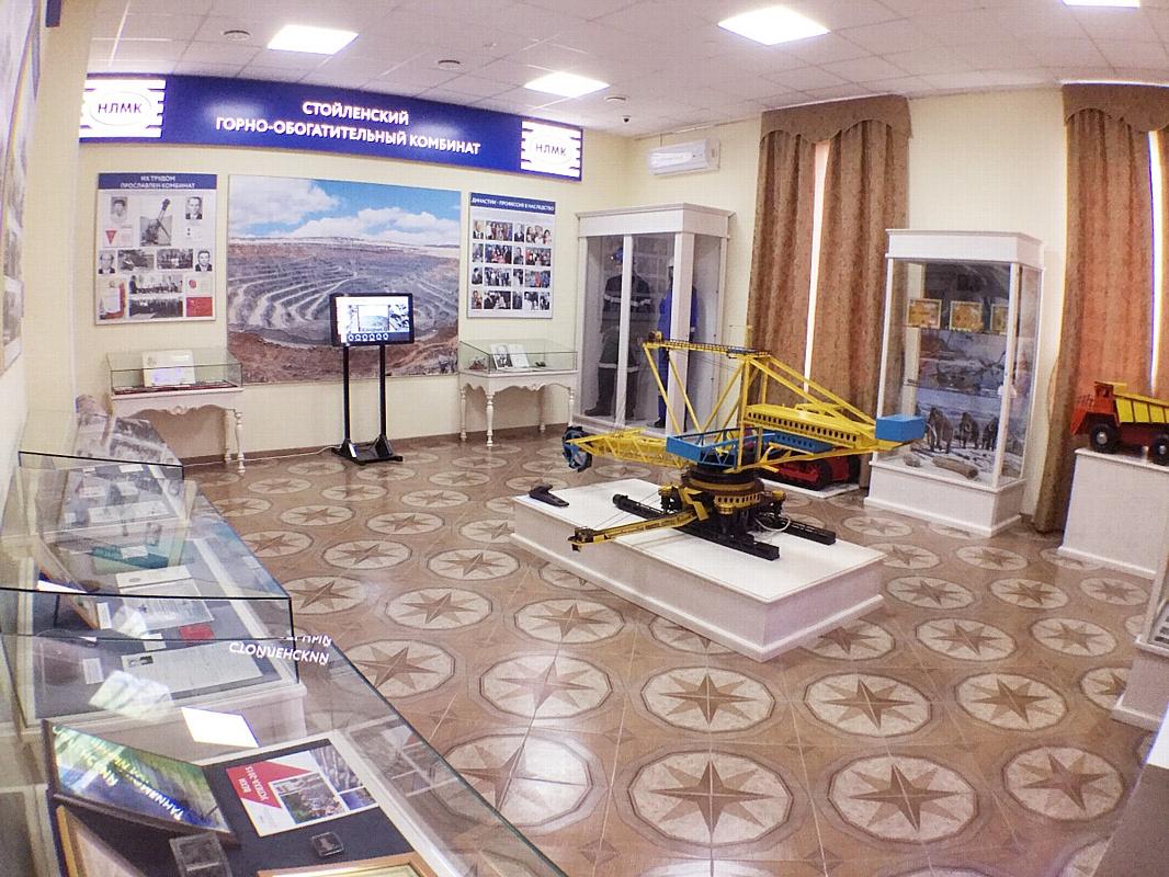 Обновленный зал Стойленского ГОКа открыли в музее истории КМА