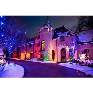 Новогодняя подсветка из светодиодной RGB ленты