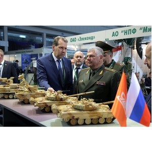 Уралвагонзавод на военной выставке Milex 2019 в Республике Беларусь