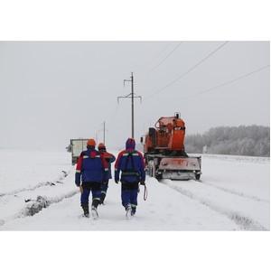 Ульяновские энергетики помогли самарским коллегам справиться с гололедом на проводах