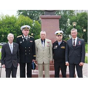 Празднование 215-й годовщины со дня рождения флотоводца П.С. Нахимова состоялось в Нижнем Новгороде