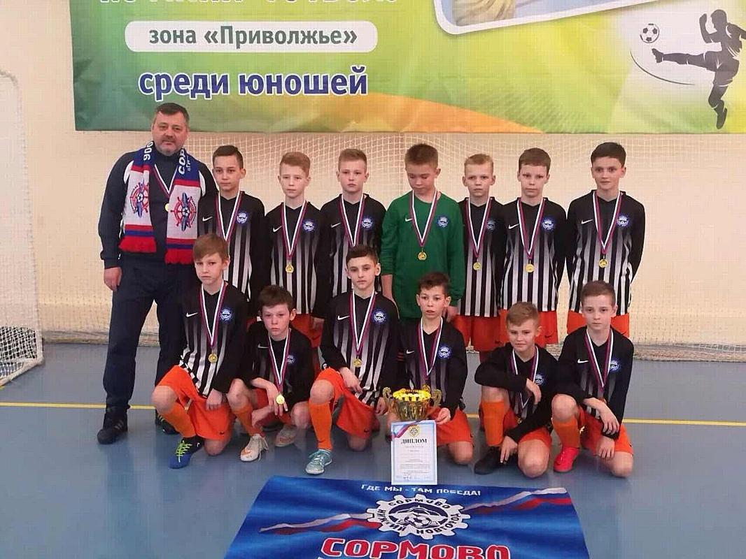 Стали известны Чемпионы по футболу первенства России по зоне Приволжья