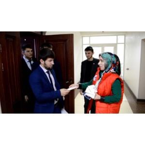 Команда «Молодежки ОНФ» в Чечне приняла участие во всероссийской акции Народного фронта «Татьянка»