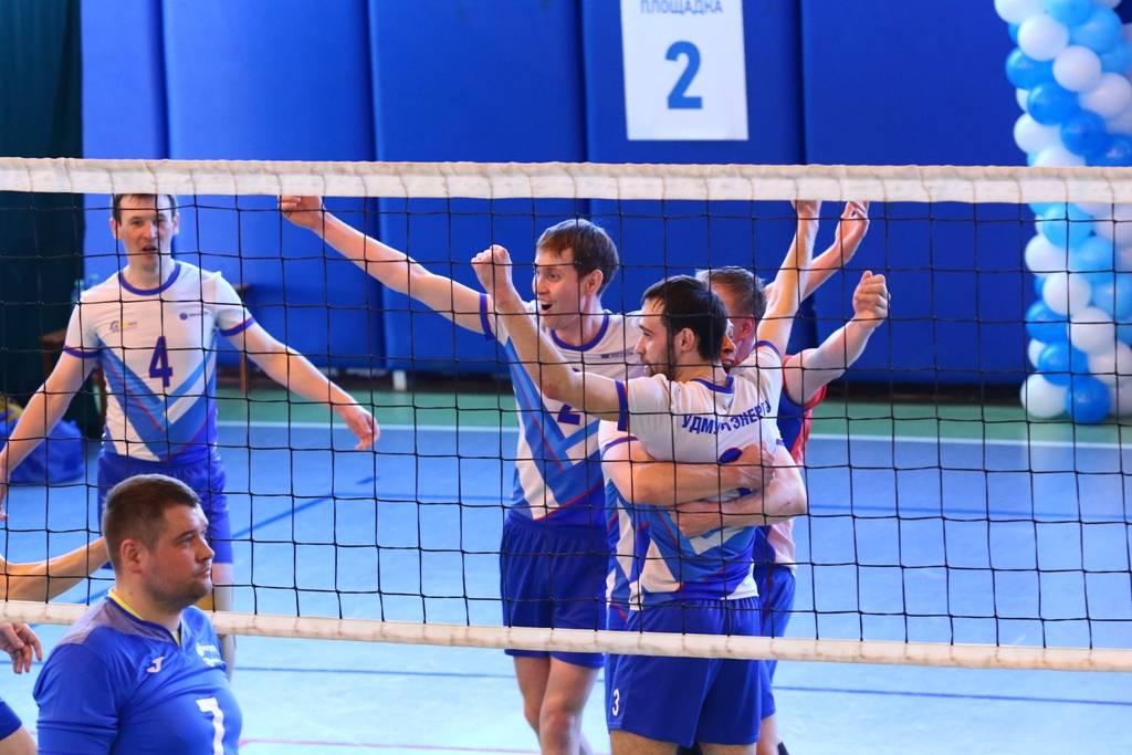 Волейболисты «Удмуртэнерго» представили  «МРСК Центра и Приволжья» на соревнованиях «Россети»