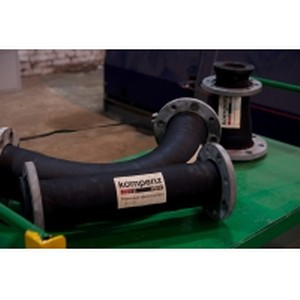 Износостойкие резиновые отводы с 3-х кратным запасом прочности для завода ЖБИ