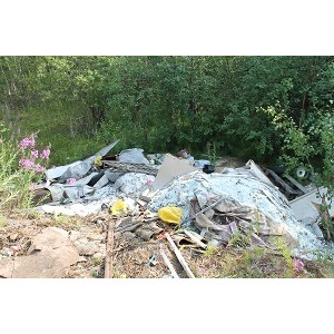 Активисты ОНФ на Ямале обнаружили свалку отходов I класса опасности на окраине Салехарда