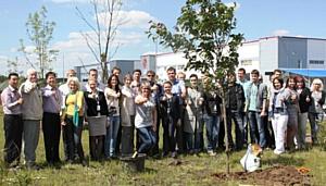 Всемирный день волонтера в LG Electronics