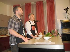 Новые участники шоу «Моя кухня» в гостях у  Фабрики кухни «ZETTA».