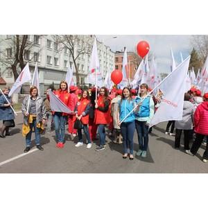 Амурские активисты ОНФ приняли участие в мероприятиях, посвященных Дню весны и труда