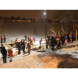 МЧС рекомендует для крещенского купания набережную Суры в Пензе