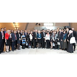 """ћеждународный молодежный форум """"Ѕудущее европейской и евразийской интеграции: форсайт 2040"""", јвстри¤"""