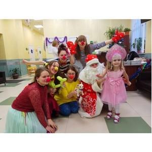 Активисты ОНФ провели акцию «Новогоднее чудо» в Санкт-Петербурге