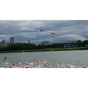В Москве прошел первый этап Кубка Чемпионов по плаванию на открытой воде