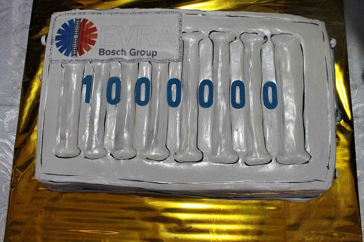 С конвейера завода «Еврорадиаторы» сошел миллионный радиатор Buderus Logatrend