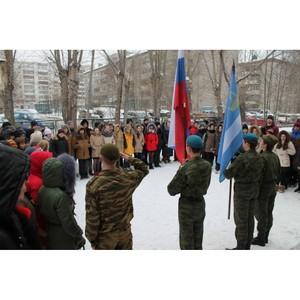 В рамках проекта ОНФ тюменской школе № 37 присвоено имя разведчика Николая Кузнецова