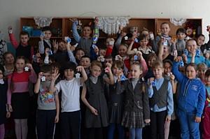 Компания LafargeHolcim начала традиционные уроки безопасности для школьников Ферзиковского района