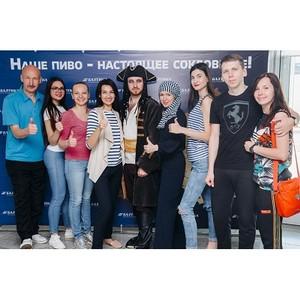 130 человек посетили филиал компании «Балтика» в Самаре в ходе ежегодной акции «Открытые пивоварни»