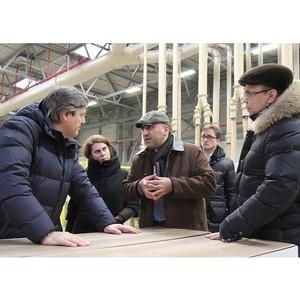 Замминистра транспорта РФ посетил завод Kastamonu