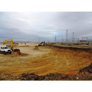 Завершен первый этап строительства солнечной фотоэлектрической станции в городе Орске