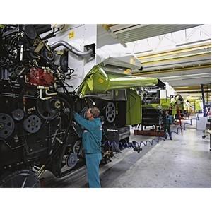 Claas: первый год работы нового завода отмечен кратным ростом производства и экспорта
