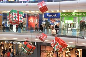 В ТРЦ Sky Mall состоялся предновогодний Sky Mall Shopping Brunch