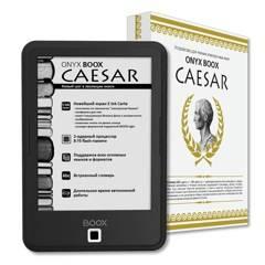 Onyx Boox Caesar – доступный букридер с экраном E Ink Carta с функцией подсветки