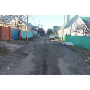 Активисты ОНФ добиваются устранения недостатков некачественного ремонта дороги в Воронеже
