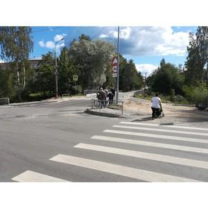 После сигнала ОНФ демонтировали опасную конструкцию с дорожными знаками у школы Петрозаводска