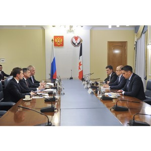 Глава Удмуртии и генеральный директор ПАО «МРСК Центра» провели рабочую встречу