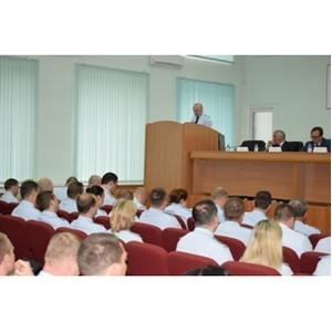В УВД по Зеленоградскому округу подведены итоги работы за первое полугодие 2017 года