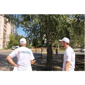 После инспекции ОНФ в Костроме начали обустраивать пешеходные переходы у школ