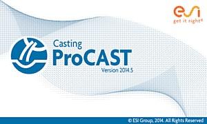 Компания CSoft сообщает о выходе системы моделирования литейных процессов ProCAST 2014.5