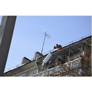 Ущерб имуществу от упавшего с крыши снега исчисляется десятками тысяч рублей