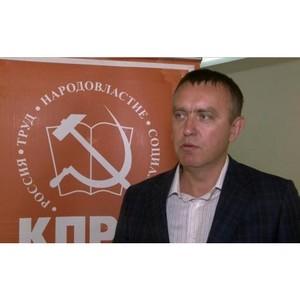 Андрей Горшков: «Надеюсь на доверие партии»