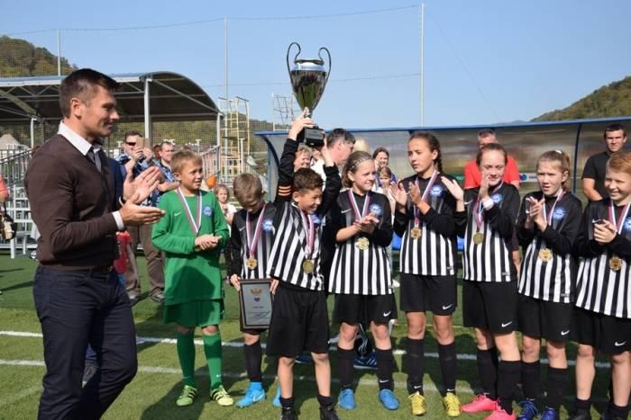 Детская команда «Маринс Групп Сормович» стала победителем Кубка Российского футбольного союза