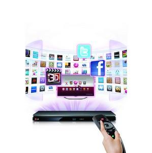 LG выпускает новый плеер 3D Blu-ray с передовыми функциями Smart TV